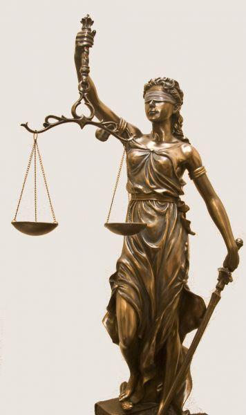 symbol bogini prawa Temidy